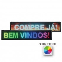 PAINEL DE LED RGB 100cm*20cm SC1696-13C
