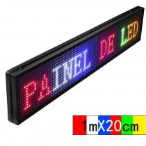 LETREIRO DIGITAL PAINEL DE LED MIX SC1696C