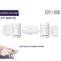 KIT ALARME SEMFIO CENTRAL WIFI SC0122 SC0122
