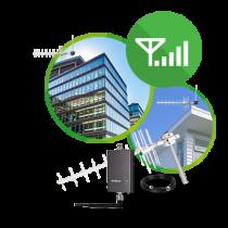 Kit Repetidor de sinal celular RCK 8014