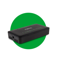Switch 8 portas Fast Ethernet com proteção antissurto SF 800 Q+ ULTRA