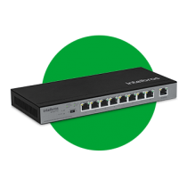 Switch 9 portas Fast Ethernet com 8 portas PoE SF 900 PoE