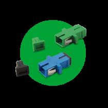 Adaptador Óptico Simplex SC/UPC e SC/APC  XFA 1 e XFA 2