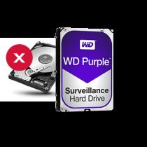 Discos rígidos para CFTV HDs WD Purple™