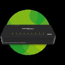 Switch 8 portas Fast Ethernet com VLAN Fixa SF 800 VLAN