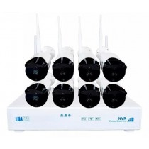 Kit NVR 8 CÂmeras Wifi
