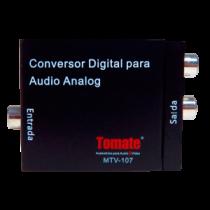 ÁUDIO ANALÓGICO PARA DIGITAL MTV-107