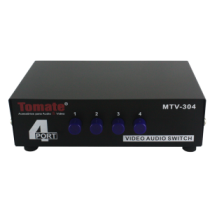 CHAVEADOR SWITCH AV 4X1 MTV-304