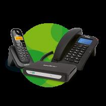 Sistema de comunicação telefônica para microempresa MiniCom Slim