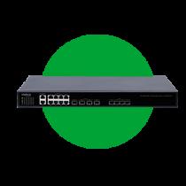Com 4 portas SFP EPON e 8 portas Gigabit Ethernet  OLT 4840 E
